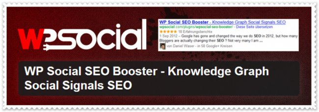 WP Social SEO booster plugin