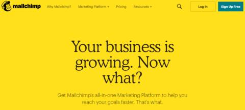 New Mailchimp marketing platform